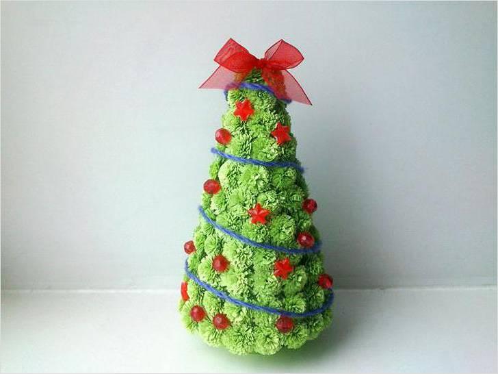 Tělor strom z papíru & # 8212; Schémata a šablony k vytvoření vánočního stromu s vlastními fází rukou 60