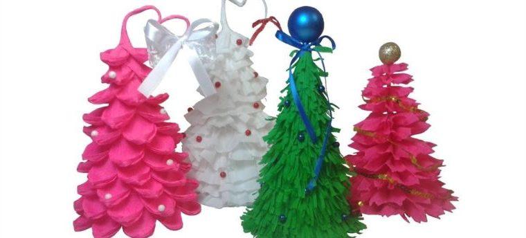 Tělor strom z papíru & # 8212; Schémata a šablony k vytvoření vánočního stromu s vlastními fází rukou 61