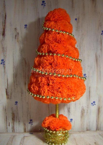 Tělor strom z papíru & # 8212; Schémata a šablony pro vytvoření vánočního stromu s vlastními fází rukou 88