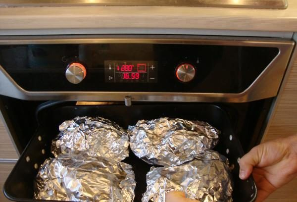 Como cozinhar truta no forno saboroso e rápido? 6 fase de receitas 40