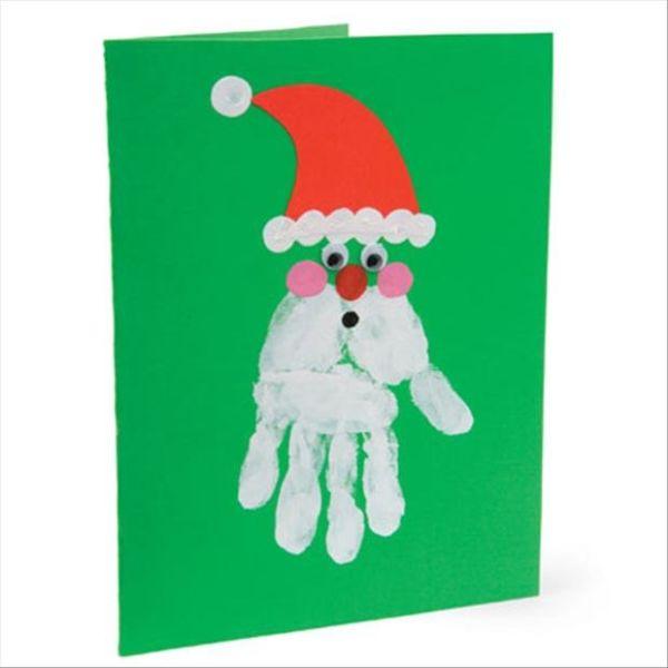 کارت پستال های سال نو آن را برای کودکان انجام می دهند: کلاس های کارشناسی ارشد و قالب های کارت پستال برای سال نو 2021 مرحله 50
