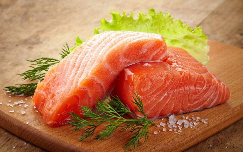 Salmon sốt muối thấp & # 8212; 7 Giải công thức nấu ăn cá hồi tại sân khấu 13