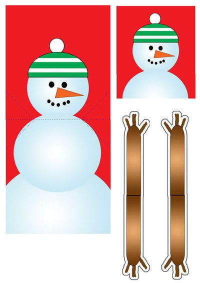 کارت پستال های سال نو آن را برای کودکان انجام می دهند: کلاس های کارشناسی ارشد و قالب های کارت پستال برای سال جدید 2021 مرحله 25