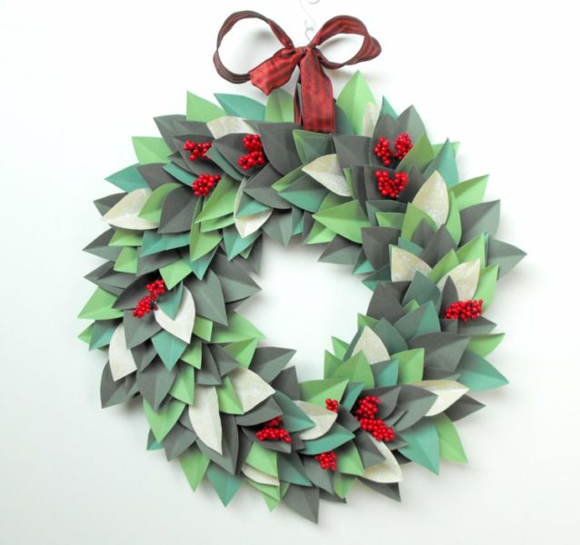 Жаңа жылдық гүл шоқтарын өзіңіз жасайды. Үйдегі гүл шоқтарын өндіруге арналған 12 шеберлік сабағы 66