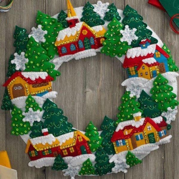Жаңа жылдық гүл шоқтарын өзіңіз жасайды. Үй сатысында гүл шоқтарын өндіруге арналған 12 шеберлік сабағы 84