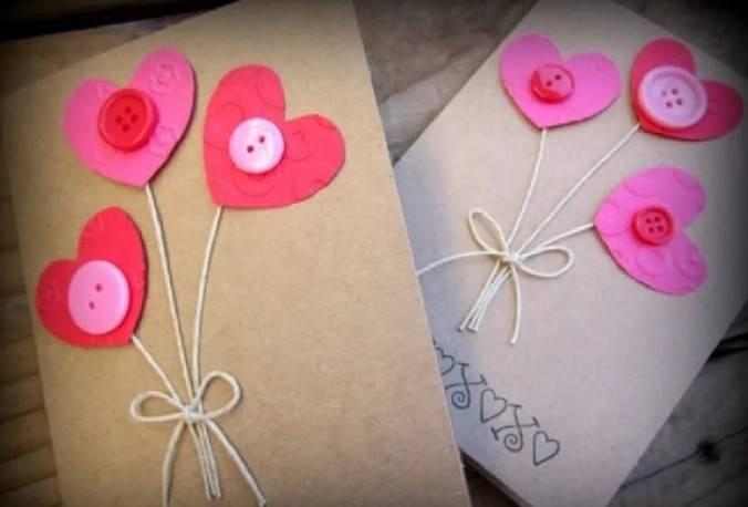 वेलेंटाइन दिवस के लिए DIY बच्चों के लिए अपने हाथों से: 14 फरवरी चरण 3 को शिल्प के सबसे सुंदर विचार