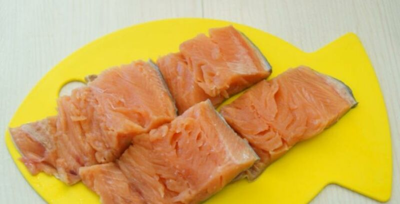 Baked pink salmon in the oven: 6 recipes for making juicy pink salmon stage 39
