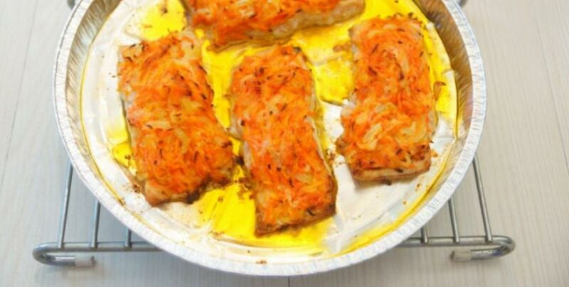Baked pink salmon in the oven: 6 recipes for making juicy pink salmon stage 42