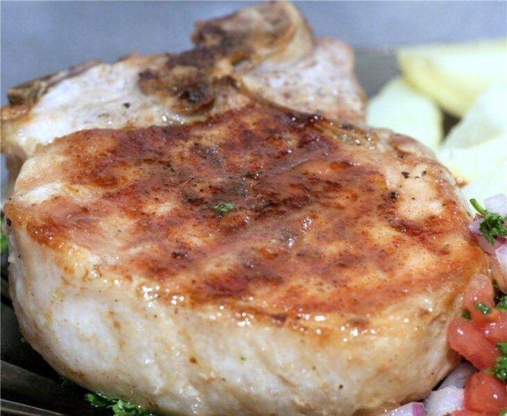 Carne de porco em uma frigideira: 9 Receitas simples e saborosa Estágio 5