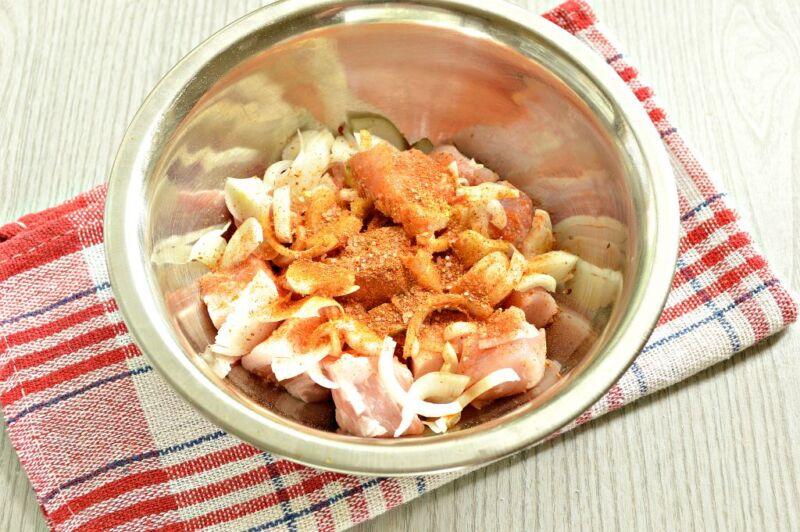 Carne de porco em uma frigideira: 9 Receitas simples e deliciosas Estágio 9
