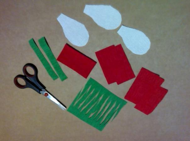 Paper Flowers & # 8212; Mga scheme at mga template para sa paglikha ng mga kulay ng papel na yugto 158.
