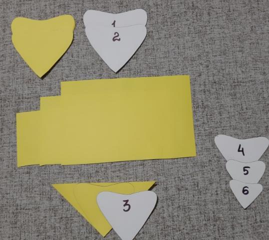 Paper Flowers & # 8212; Mga scheme at mga template para sa paglikha ng mga kulay ng papel na yugto 21.