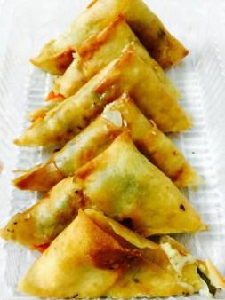 Teasy Cheesy Dumplings