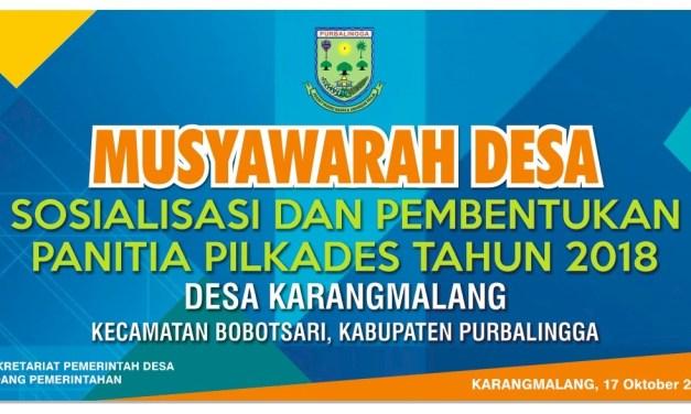 Pemilihan Kepala Desa Karangmalang