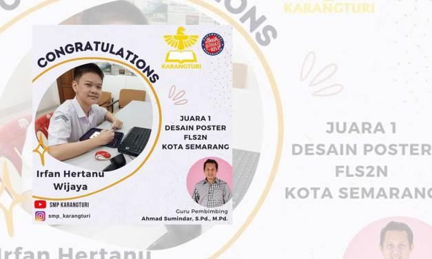 Congratulations! IRFAN HERTANU WIJAYA