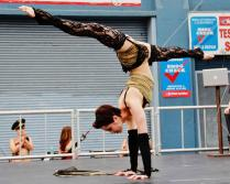 contortion act