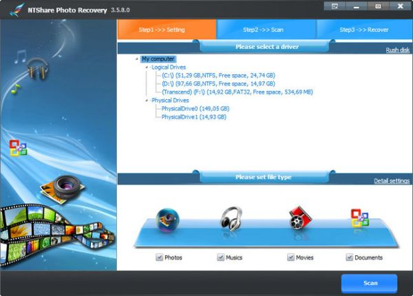 Download NTShare Photo Recovery Full