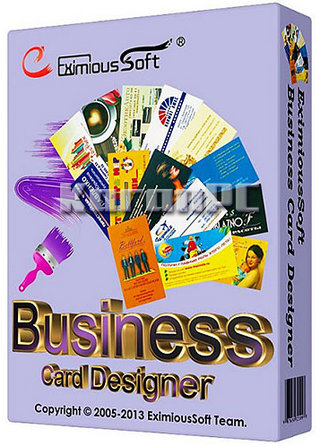 eximioussoft business card designer 5.08