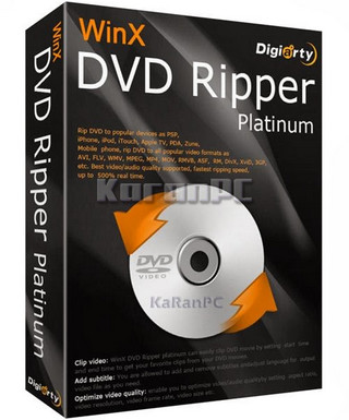 WinX DVD Ripper Platinum 8 Full Version