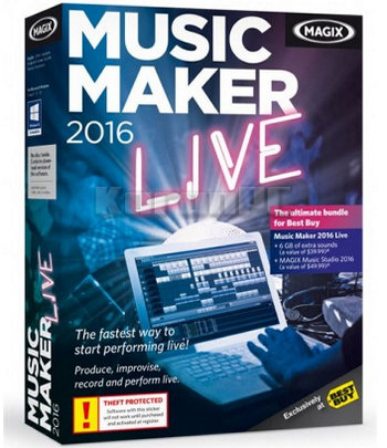 MAGIX Music Maker Live