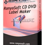 RonyaSoft CD DVD Label Maker 3.01.32 Key [Latest]