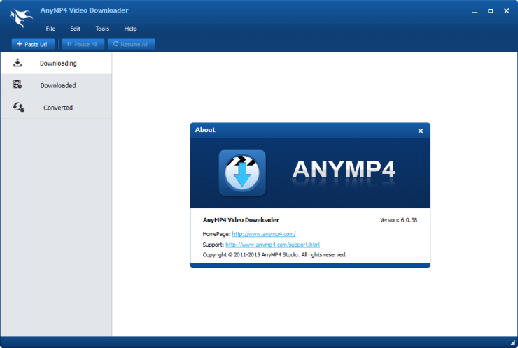AnyMP4 Video Downloader full version