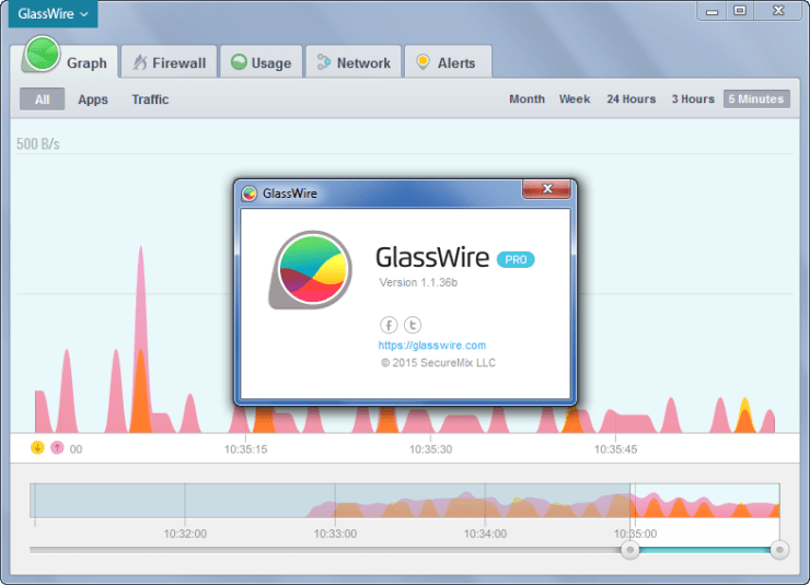 GlassWire Elite 1.2