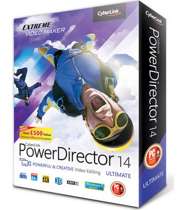 CyberLink PowerDirector Ultimate 14