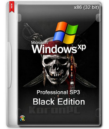 Windows XP Black Edition 2015.9.12