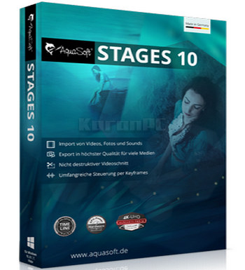 AquaSoft Stages 10 Full Version