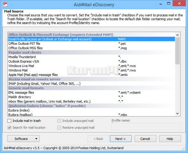 Fookes Software Aid4Mail Full Download