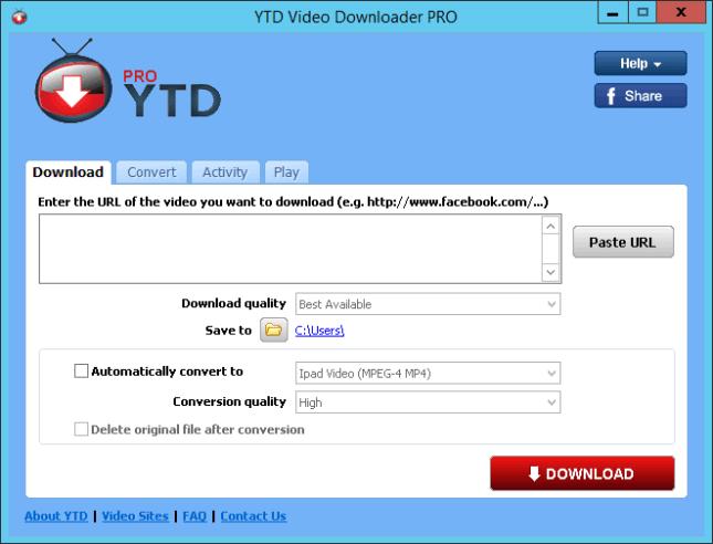 YTD Video Downloader Pro License Key