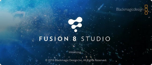 Blackmagic Design Fusion Studio 8