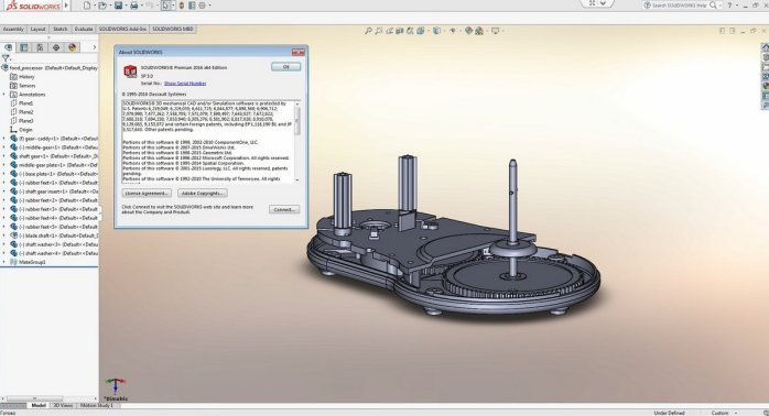 SolidWorks 2016 SP3