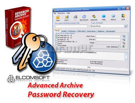 Advanced Archive Password Recovery 4