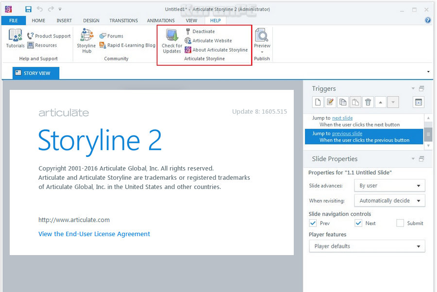 Articulate Storyline Free