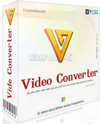 Freemake Video Converter Gold 4.1.10.5 + Portable