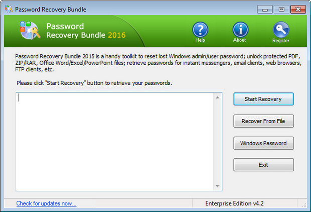 Password Recovery Bundle 2017 Full Download