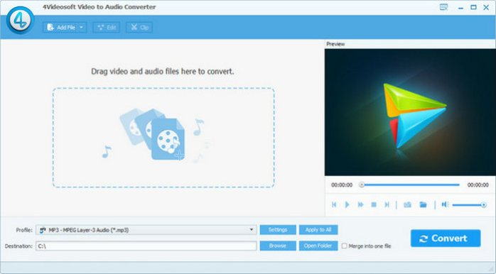 4Videosoft Video to Audio Converter 5