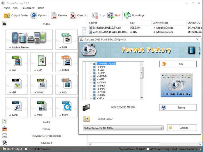 Format Factory 4.1 Free
