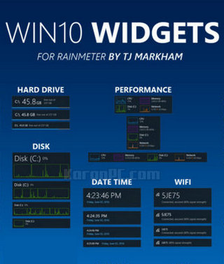 Win10 Widgets 1 0 0 Free for Desktop [Latest] - Karan PC