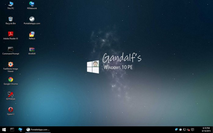 Windows 10 PE