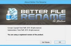Better File Rename 6.09 [Latest]