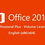 Microsoft Office 2010 VL ProPlus English (x86-x64) Sep 2016