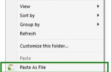 Paste As File 5.0.0.5 Free Download