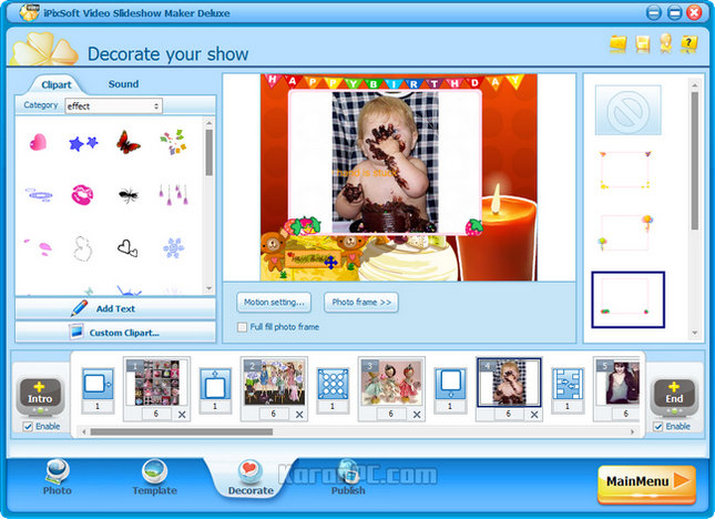 iPixSoft Video Slideshow Maker Deluxe Full Version