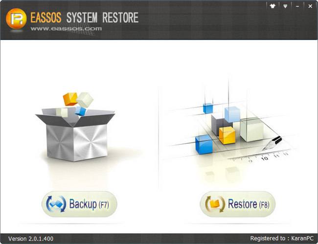 Eassos System Restore Full Version