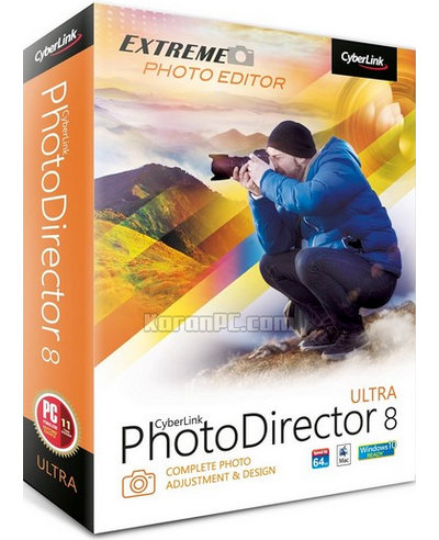 CyberLink PhotoDirector Ultra 8