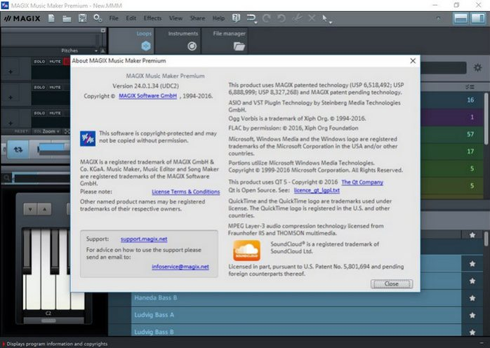 MAGIX Music Maker Premium 24.0.1.34