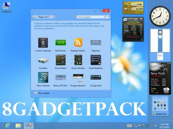 8GadgetPack 25.0 Free Download [Final]